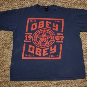 Mens obey shirt